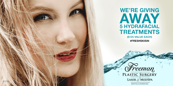 Enter our latest sweepstakes at our Idaho Falls plastic surgery practice