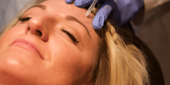 Sheena Daniels gets a BOTOX injection at Freeman Plastic Surgery.