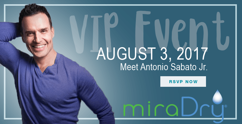 Antonio Sabato Jr. for MiraDry in Idaho Falls