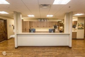 Madison Avenue Surgery Center front reception desk